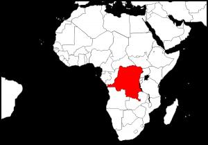 Map_DR Congo