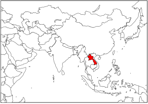 Map_Lao PDR