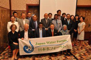 マレーシア大臣との集合写真