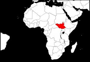 map ssudan