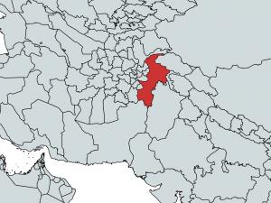 ハイバル・パフトゥンハー州の位置